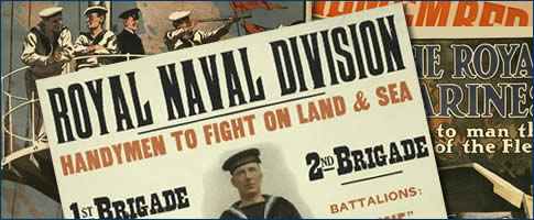 WWI British Navy Recruitment Posters